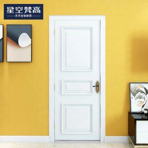 油漆平面混油木门-风情月意