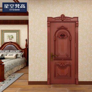 复杂油漆压线木门-香榭丽舍