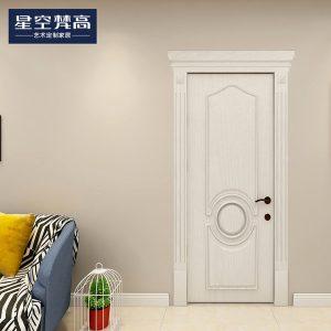油漆平面纹理木门-香奢一品