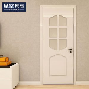 免漆平面木门-白木时代