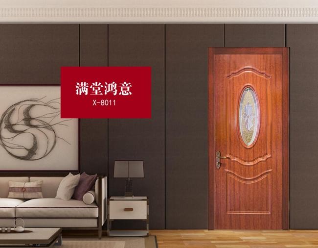 什么是免漆门,免漆门好在哪,星空梵高木门