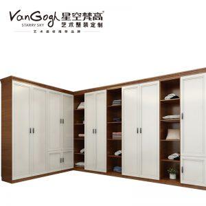 整体定制橱柜 布鲁塞尔·英式门芯-2衣柜