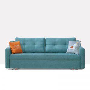 坐卧多功能乳胶客厅功能沙发 柳色菁菁 k610-1