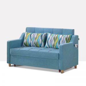 坐卧多功能乳胶客厅功能沙发 蓝湖之梦 k611