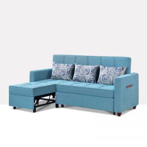 坐卧多功能乳胶客厅功能沙发 春色玲珑 M8802