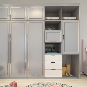 全屋定制中的衣柜应该怎么设计?