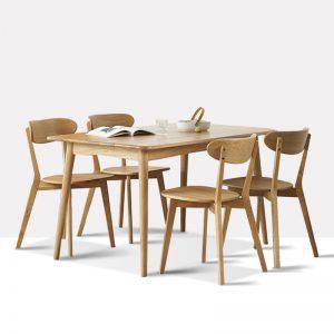 星空梵高 现代简约 实木餐桌餐椅 快乐食光 T537#餐桌