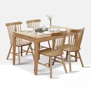 星空梵高 现代简约 实木餐桌餐椅 纯木食代 TB-19