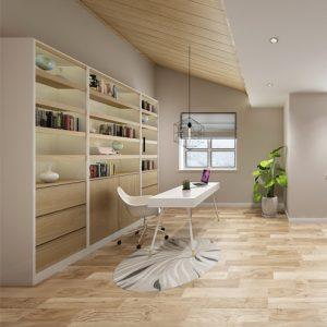家装装修中各个空间的柜子应该用什么材料